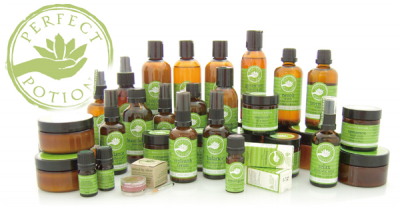 Perfect Potion products at Mandurah Central Massage